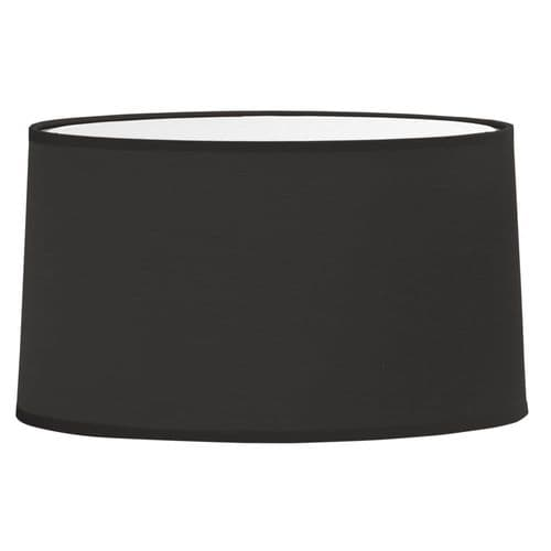 Astro 5034002 Tapered Oval Shade Black Fabric